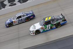 Eric McClure, JGL Racing Toyota and Blake Koch, TriStar Motorsports Toyota