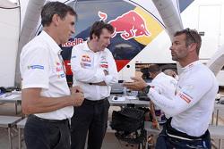 Bruno Famin and Sébastien Loeb, Peugeot Sport