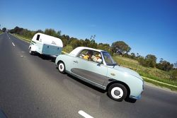 Rick and Todd Kelly on their way to Bathurst in 2015