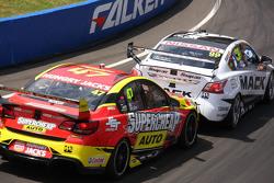 James Moffat and Taz Douglas, Nissan Motorsports and Tim Slade and Tony D'Alberto, Walkinshaw Performance Holden