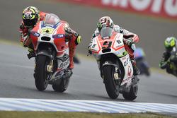 Andrea Iannone, Ducati Team en Danilo Petrucci, Ioda Racing Project