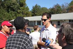 Joey Logano assists in Columbia, SC