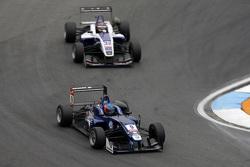 Tatiana Calderon, Carlin Dallara Volkswagen and Zhi Cong Li, Fortec Motorsports Dallara Mercedes-Benz