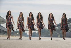 Mexican GP grid girls