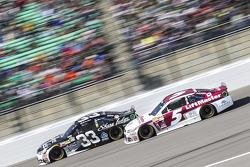 Brian Scott, Chevrolet and Kasey Kahne, Hendrick Motorsports Chevrolet