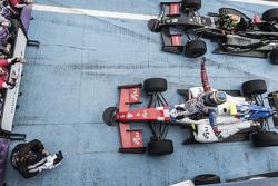Winnaar Oliver Rowland, Fortec Motorsports