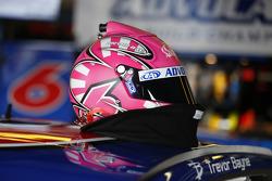 Helmet of Trevor Bayne, Roush Fenway Racing Ford