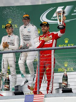 Podium: Third placeSebastian Vettel, Ferrari