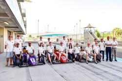 Drivers group photoshoot
