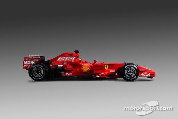 The new Ferrari F2008