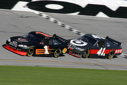 Martin Truex Jr. and Reed Sorenson