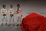 Timo Glock, Jarno Trulli and Kamui Kobayashi