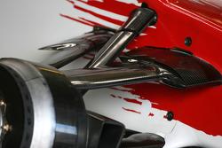 Toyota Racing, TF108, detail
