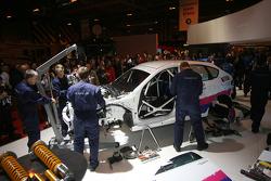 Prodrive Group N Subaru Impreza 2008 gets built live at the Show