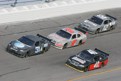 Jeff Burton, Dario Franchitti, Kasey Kahne and Ryan Newman