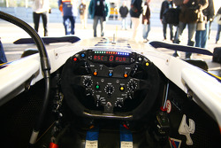 Cockpit of the Renault F1