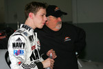 Brad Keselowski and Tony Eury Sr.