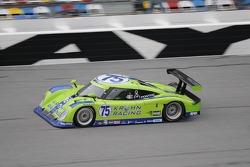#75 Krohn Racing Pontiac Lola: Oliver Gavin, Tracy Krohn, Eric van de Poele