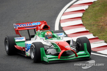 Frederico Duarte, driver of A1 Team Portugal