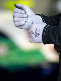 Honda Racing Team mechanic