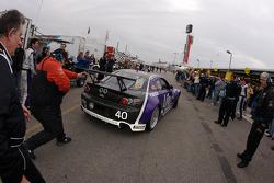#40 Hyper Sport Mazda RX-8: Patrick Dempsey, Charles Espenlaub, Joe Foster, Romeo Kapudija, Scott Maxwell heads back to track