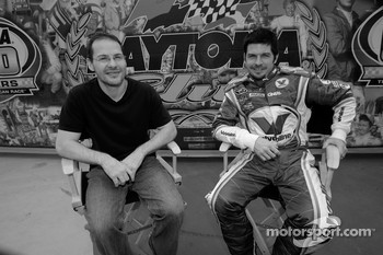 Jacques Villeneuve and Patrick Carpentier