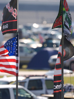 Flags at Daytona
