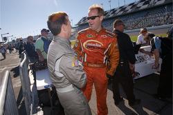 Kenny Wallace and John Andretti
