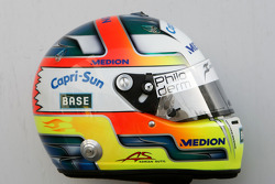 Helmet, Adrian Sutil, Force India F1 Team