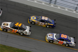 Dale Jarrett, Michael Waltrip and David Reutimann
