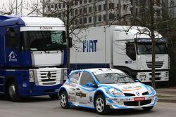 n°9 Renault clio III JB Dubourg of M Broggi