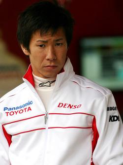 Kamui Kobayashi, Test Driver, Toyota F1 Team