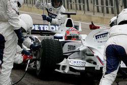 BMW Sauber F1 Team, Pit stop training