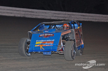 Ken Schrader competes in the 37th Annual Alltel DIRTcar Nationals at nearby Volusia Speedway Park