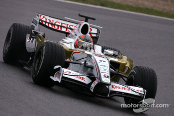 Vitantonio Liuzzi, Test Driver, Force India F1 Team, F8-VII- B