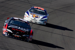 Tony Stewart leads David Reutimann