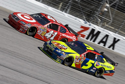 Reed Sorenson and Casey Mears