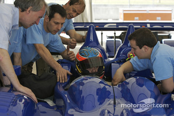 Seat fitting for Jean-Christophe Ravier