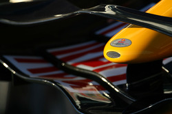 Red Bull front wing detail