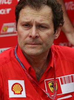 Aldo Costa, Scuderia Ferrari, Chief Designer