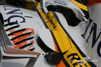 Renault F1 Team, R28, Detail
