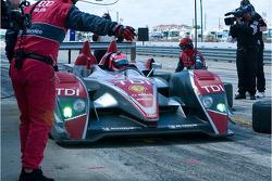 #2 Audi Sport North America Audi R10 TDI: Lucas Luhr, Mike Rockenfeller, Marco Werner