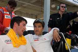 Mike Rockenfeller and Lucas Luhr