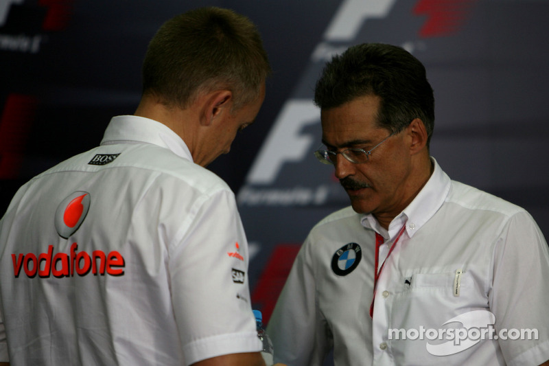 FIA press conference: Martin Whitmarsh, McLaren, Chief Executive Officer and Dr. Mario Theissen, BMW Sauber F1 Team, BMW Motorsport Director