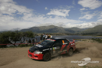 Fumio Nutahara and Daniel Barritt, Mitsubishi Lancer Evolution IX