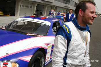 Jacques Villeneuve, former Formula One World Champion, Speedcar Series
