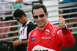 Fastest man of the day Helio Castroneves