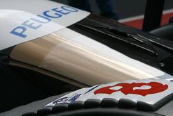 Detail of the Team Peugeot Total Peugeot 908 HDi-FAP