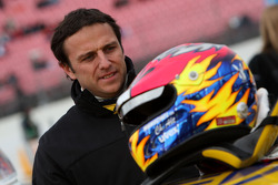 Former DTM driver Christian Abt competes in the Porsche Carrera Cup 2008 now