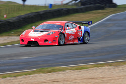 GT3 CR Scuderia Ferrari 430 taking Seat curves